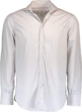 Brunello Cucinelli Twill Stripe Shirt