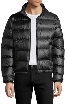 Prada Linea Rossa Men's Turtleneck Quilted Jacket