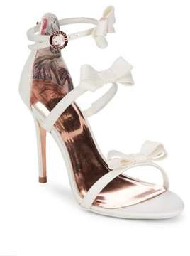 Ted Baker Nuscala Bow Ankle-Strap Sandals