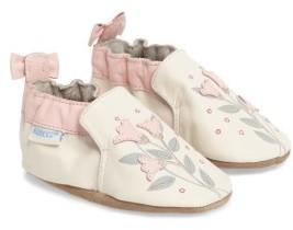 Robeez Toddler Girl's Rosealean Crib Shoe