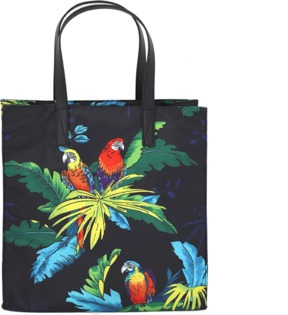 Marc Jacobs Parrot Shopping Tote - BLK MULT - STYLE