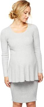 A Pea in the Pod Secret Fit Belly Rib Knit Maternity Skirt
