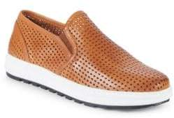 Vince Camuto Sebasten Leather Slip-On Sneakers