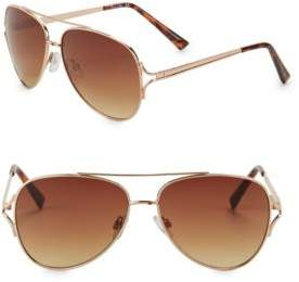 Sam Edelman 64MM Aviator Sunglasses
