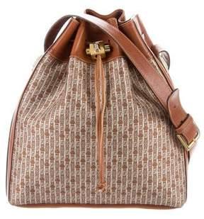 Judith Leiber Jacquard Bucket Bag