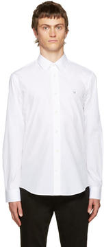 Acne Studios White Jeffrey Pop Face Shirt
