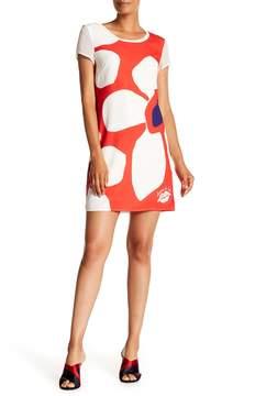 Desigual Short Sleeve Printed Dress