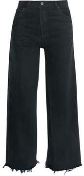 Levi's Re/Done By High-Rise Distressed Wide-Leg Jeans