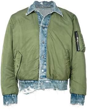 Amiri reversible Tucker bomber jacket