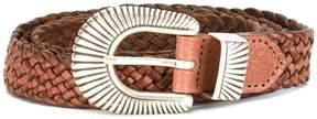 Eleventy interlaced design belt