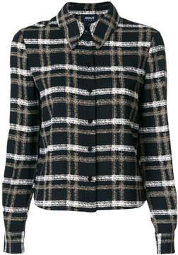 Armani Jeans check print shirt