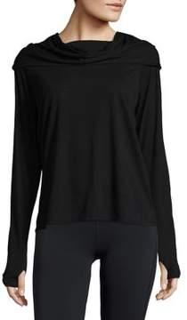 Gaiam Cowlneck Long-Sleeve Top