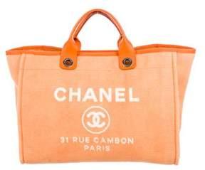 Chanel Large Deauville Shopper