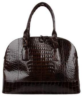 Nancy Gonzalez Crocodile Large Satchel