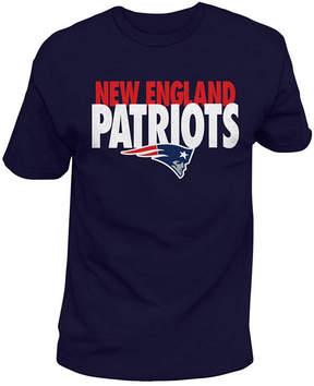 Authentic Nfl Apparel Men's New England Patriots Stunt Blitz T-Shirt