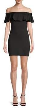 Susana Monaco Off-The-Shoulder Bodycon Dress
