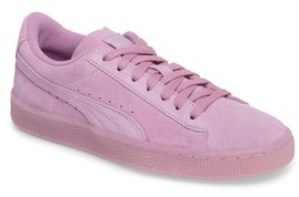 Puma Girl's Iced Suede Sneaker