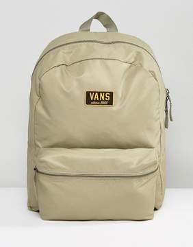 Vans Boom Boom Backpack In Khaki