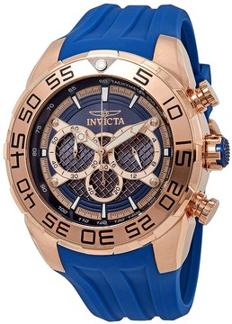 Invicta Speedway Chronograph Blue Dial Men's Watch