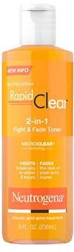 Neutrogena Rapid Clear 2-In-1 Fight and Fade Toner Acne Treatment