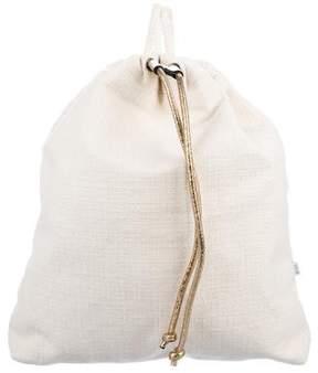 Brunello Cucinelli Tweed Drawstring Backpack