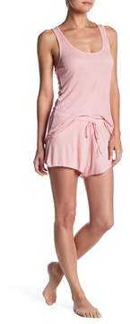 Barefoot Dreams Luxe Ribbed Jersey Short