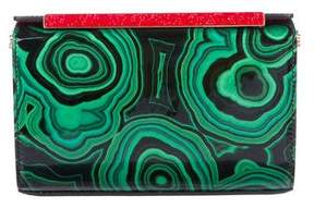 Christian Louboutin Patent Leather Vanite Clutch