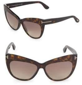 Tom Ford 56MM Cat Eye Sunglasses