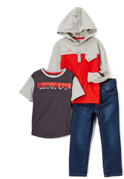 DKNY High Risk Red Circuit Hoodie Set - Infant & Boys