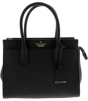 Kate Spade Women's Cameron Street Small Candace Satchel Leather Shoulder Bag Tote - Black