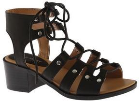 Nine West Girls' Kacies Ghillie Lace Up Sandal