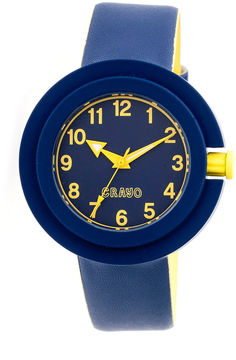 Crayo Womens Equinox Navy Strap Watch CRACR2806