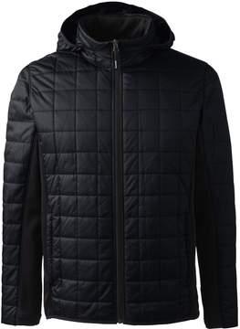 Lands' End Lands'end Men's Big Hybrid Fleece Jacket