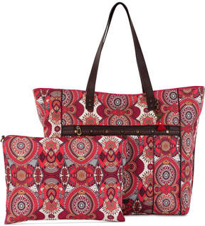 Sakroots Printed Travel Tote