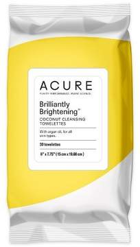 Acure Organics Coconut + Argan Oil Cleansing Towelettes - 30 Ct