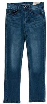 Calvin Klein Jeans Mid-Rise Straight-Leg Jeans w/ Tags