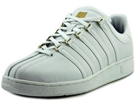K-Swiss Classic Vn Round Toe Leather Sneakers.