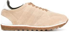 Alberto Fasciani perforated decoration sneakers