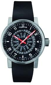 Fortis Spacematic Automatic Black Dial Men's Watch