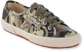 L.L. Bean Superga Classic Cuto 2750 Sneakers, Camouflage
