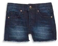 Joe's Jeans Little Girl's Frayed Cuff Denim Shorts