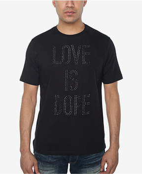 Sean John Men's Love Is Dope Rhinestone T-Shirt, Created for Macy's