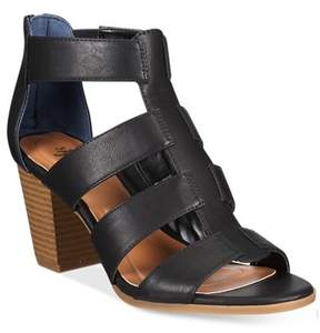 Style&Co. Style & Co. Womens Janinaap Open Toe Casual Strappy Sandals.