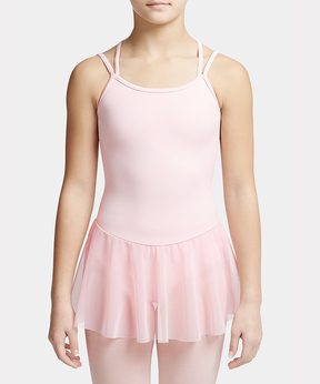 Capezio Pink Carefree Camisole Skirted Leotard- Girls