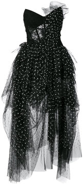 Ermanno Scervino lace and tulle bustier bodice dress
