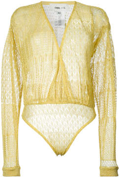 Circus Hotel embroidered wrap body