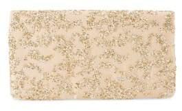 Adrianna Papell Shay Glitter Net Clutch