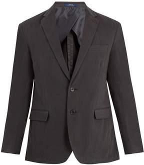 Polo Ralph Lauren Notch-lapel cotton-blend jacket
