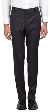Christian Dior Men's Wool Slim Fit Dress Trousers Pants Grey.