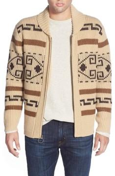Pendleton Men's 'Original Westerly' Shawl Collar Zip Sweater